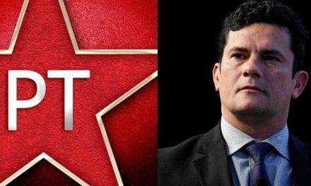 A vergonhosa nota do PT contra Sérgio Moro e Bolsonaro após nova denúncia grave contra o partido