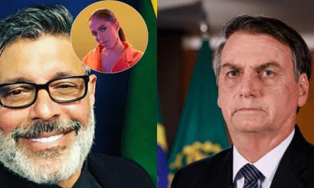 Frota parabeniza cantora Anitta e faz criticas a Bolsonaro 'evagélico'