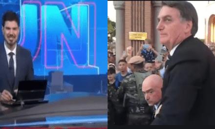 Após imprensa afirmar que Bolsonaro foi vaiado em Aparecida, vídeo que desmente grande mídia bomba nas redes sociais