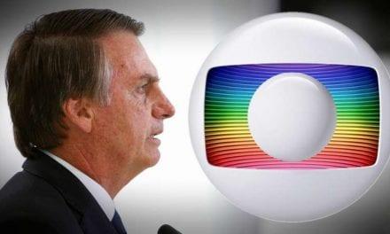 Ao comentar matéria do Jornal Nacional, Bolsonaro chama Rede Globo de nojenta, suja e canalha!