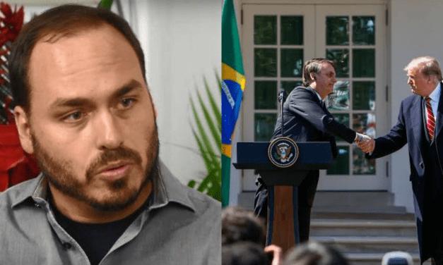 Carlos Bolsonaro contradiz imprensa e diz que Estados Unidos não retirou apoio ao Brasil na OCDE