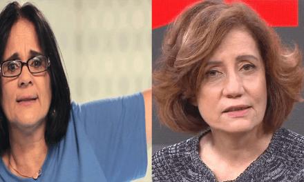 Ministra Damares manda um forte recado para Miriam Leitão após comentário preconceituoso: A INTOLERÂNCIA RELIGIOSA NÃO IRÁ NOS PARAR.