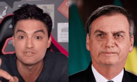 Felipe Neto tenta atacar governo, interpreta errado matéria, e apaga postagem