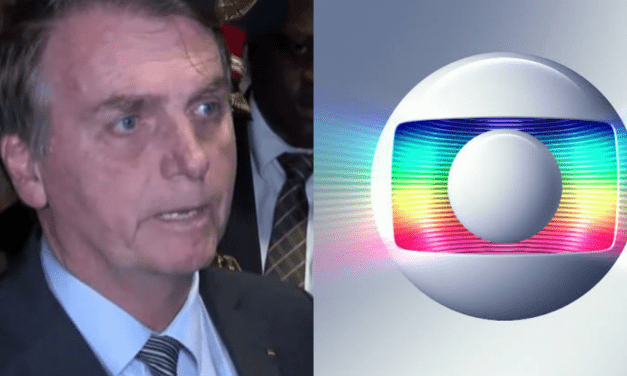 """Bolsonaro desafia Globo: """"Aguardo me convidarem para o Jornal Nacional, no horário nobre"""""""
