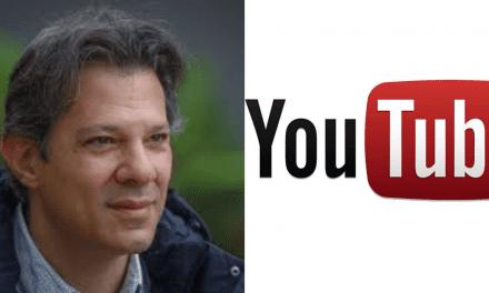 Derrotado nas últimas eleições por Bolsonaro, Haddad agora se lança como Youtuber