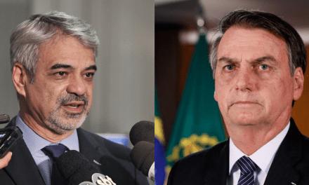 Após comentário de senador petista, internautas o acusam de ameaçar Bolsonaro e o Brasil