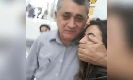 Vídeo: Mulher acusa petista José Guimarães de agressão ao tentar filmá-lo