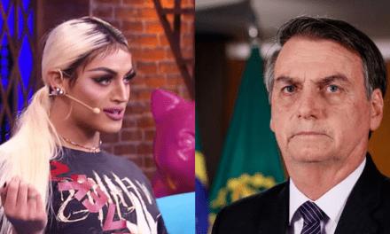 """Pablo Vittar dispara: """"Vergonha de ser brasileira por causa desse presidente"""""""