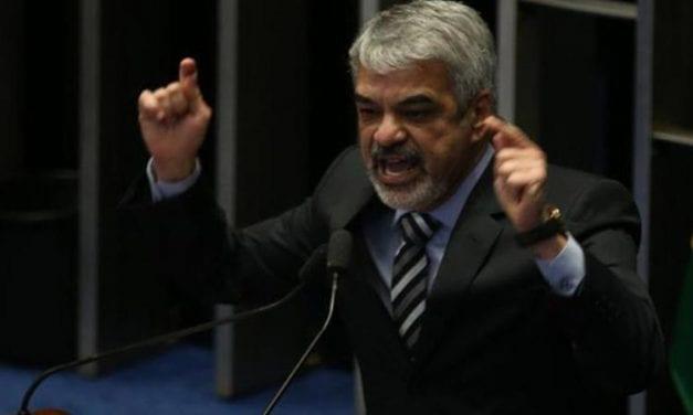 """""""Jair Bolsonaro está com os dias contados"""", afirma senador petista"""