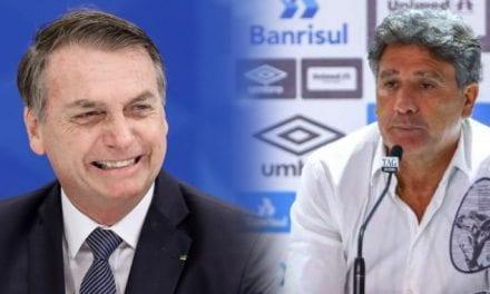 Renato Gaúcho confirma convite a Bolsonaro e elogia presidente: 'Vai dar jeito no Brasil'