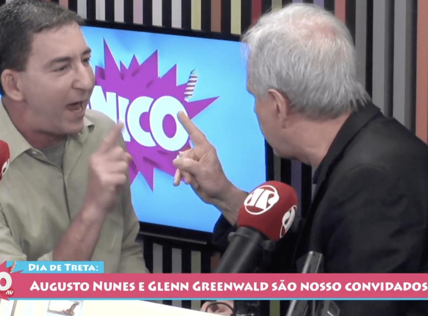 Vídeo: Augusto Nunes fala pela primeira vez sobre briga com Glenn Greenwald