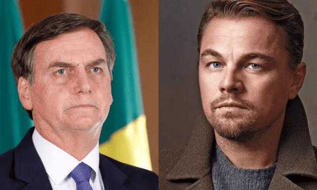 """Após ser acusado por Bolsonaro, DiCaprio se pronuncia sobre queimadas: """"Nós não financiamos as organizações"""""""