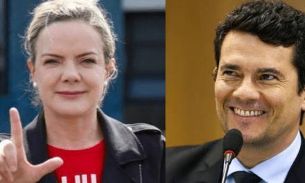 "Presidente do PT, Gleisi Hoffmann dispara: ""Queremos a prisão de Sergio Moro"""