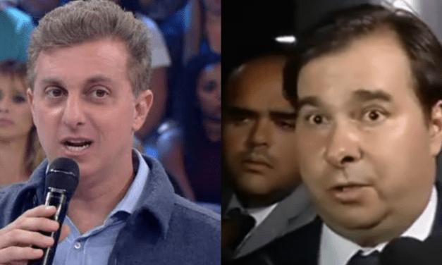 Luciano Huck faz convite para Rodrigo Maia ser vice em sua chapa em 2022