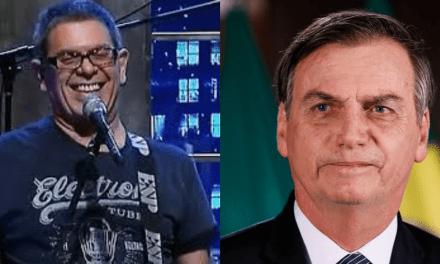 """Vocalista da banda Ultraje a Rigor, Roger Moreira, rejeita romper com Bolsonaro: """"Não vai rolar"""""""