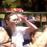 Maria do Rosário é barrada ao tentar entrar na embaixada da Venezuela (Vídeo)