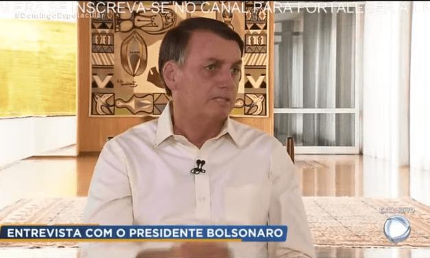 Jair Bolsonaro revela que deu puxão de orelha em Eduardo Bolsonaro
