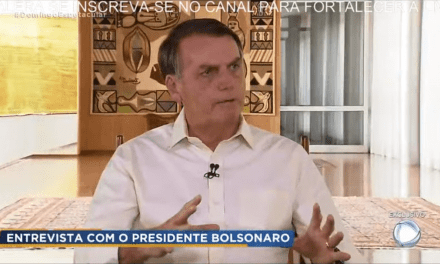 Em entrevista à TV Record, Bolsonaro desmonta mais uma narrativa mentirosa da esquerda