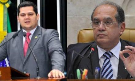 Presidente do Senado, David Alcolumbre é pressionado a abrir processo de impeachment contra Gilmar