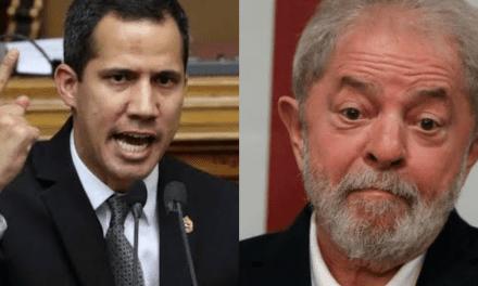 """Presidente interino da Venezuela, Guiadó dispara contra Lula: """"Ladrão Condenado!"""""""