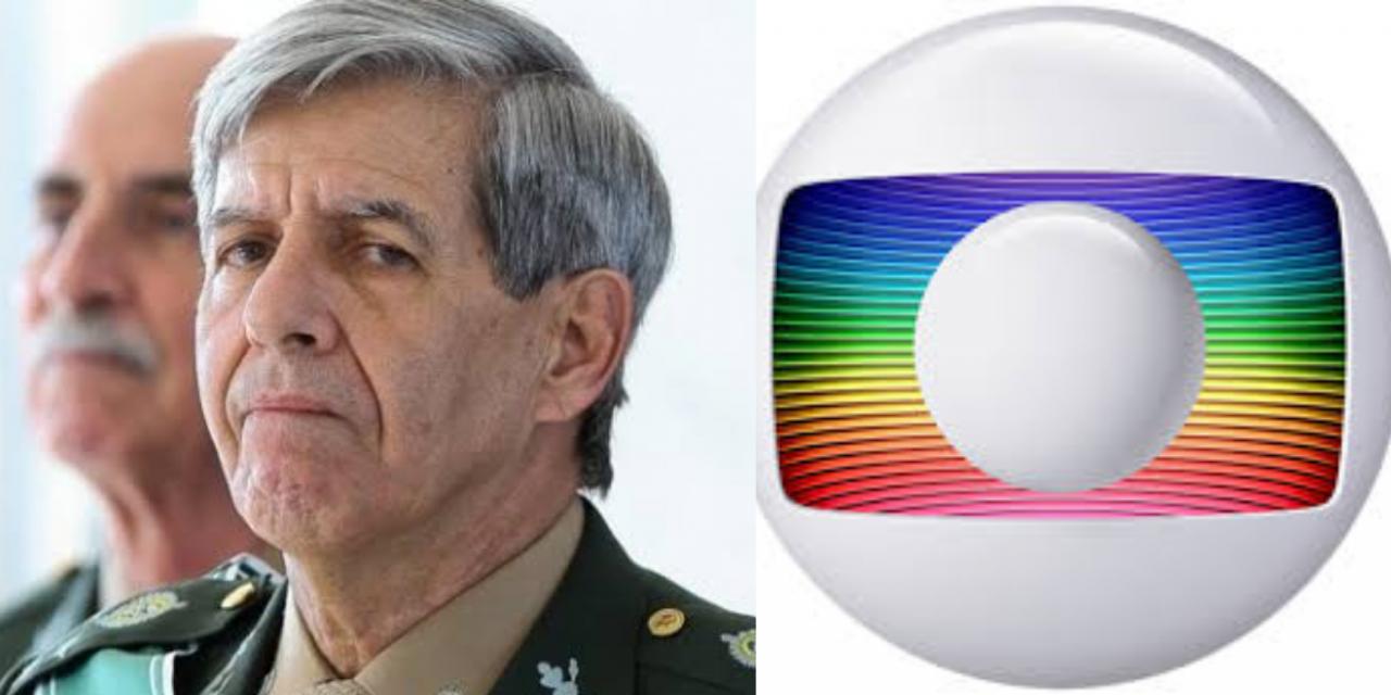 """Após matéria, General Heleno faz chacota com revista Época, do Grupo Globo: """"A revista para de circular em janeiro. Ainda bem."""""""