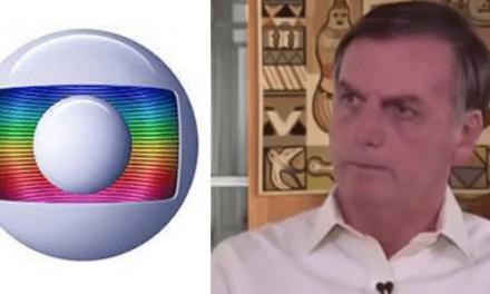 Após Bolsonaro revidar ataques, Globo retruca e afirma que o presidente 'não tem apreço pela democracia'