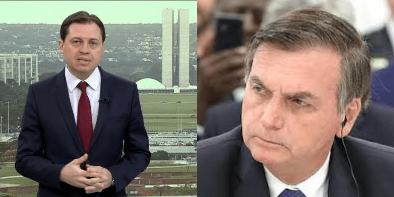 Em programa ao vivo, outro jornalista da Globo News chama Bolsonaro de 'ex-presidente'