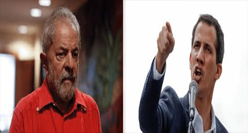 Presidente interino da Venezuela chama Lula de ladrão condenado