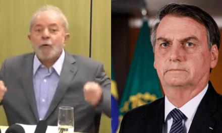 """Lula: """"Vamos torcer para que Bolsonaro não destrua o Brasil"""""""