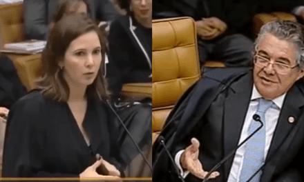 """Vídeo: Durante sessão no STF, ministro Marco Aurélio se revolta por advogada chamá-lo de """"você"""""""