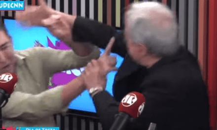 Vídeo: Jornalistas Gleenn Grennwald e Augusto Nunes brigam e se agridem durante programa