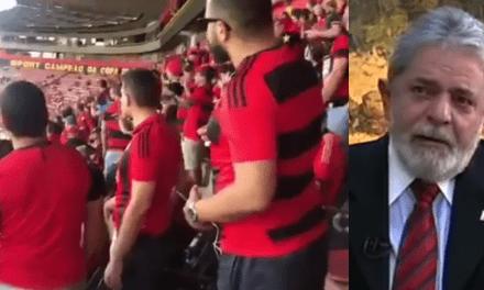 Vídeo: Torcida do Sport, de Pernambuco, entoa cantos contra Lula