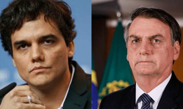 """Wagner Moura ataca presidente: """"Bolsonaro declarou guerra à cultura"""""""