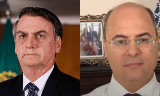 """Bolsonaro acusa Witzel de usar máquina pública para perseguir sua família, e manda recado: """"Perdeu Witzel!"""""""