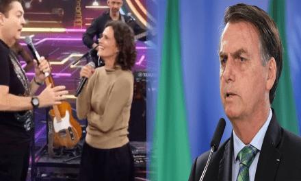 Bolsonaro é atacado indiretamente por Faustão e Zélia Duncan