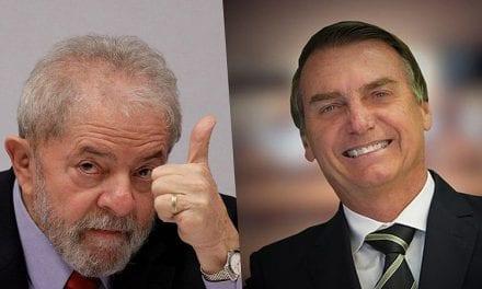 De acordo com instituto, Lula venceria Bolsonaro com folga se a eleição presidencial fosse hoje