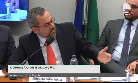 """Ministro da educação, Weintraub afirma: """"O comunismo é responsável pela morte de centenas de milhões de pessoas em todo mundo"""""""