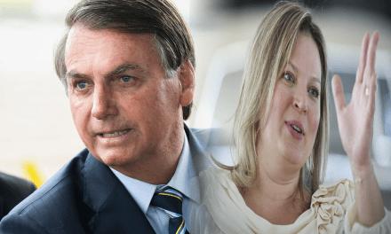 """Bolsonaro rebate ataques de Joice Hasselmann: """"Tem uma gordinha de SP me criticando injustamente"""""""