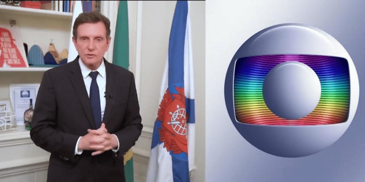 """Crivella anuncia boicote da prefeitura do Rio contra a Rede Globo: """"Todos os demais jornais do país terão nossa resposta, menos o O Globo."""""""