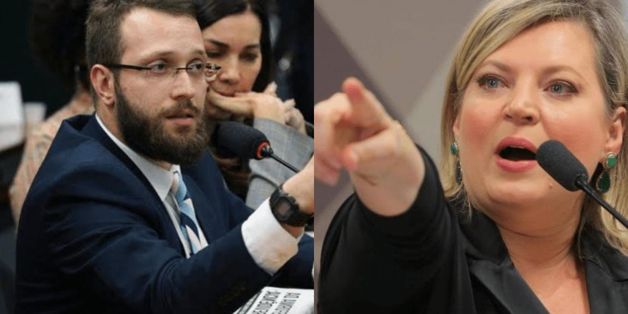 Deputado de Bolsonaro, Filipe Barros expõe 'podres' e áudio de Joice Hasselmann em CPMI das Fake News