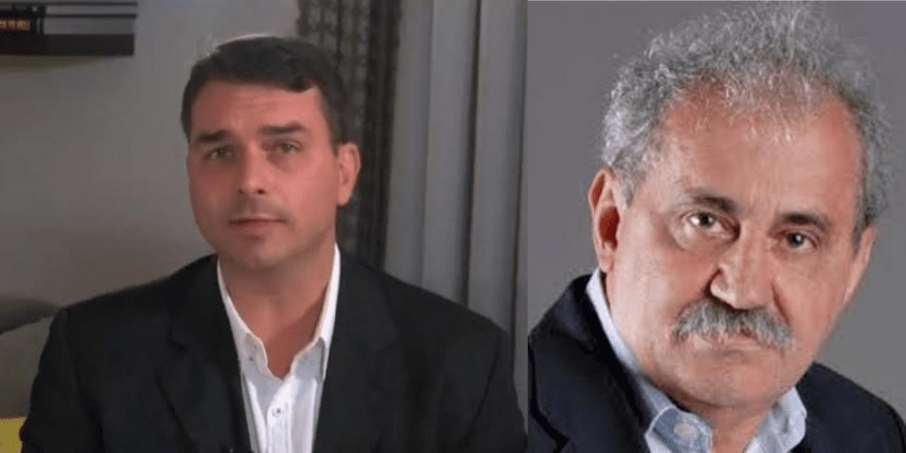 """Flavio Bolsonaro desmente jornalista d'O Globo e dispara contra ele: """"Canalha"""""""