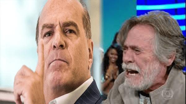José de Abreu é detonado por dono da REDETV!: noiva 70 anos mais jovem