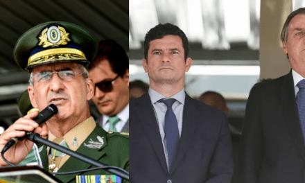 """General é categórico e afirma: """"Com Moro de vice, Bolsonaro ganha no 1° turno"""""""