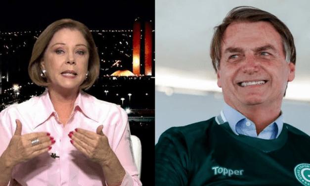 Jornalista da Globo News se rende a Bolsonaro, e já vislumbra a reeleição do presidente em 2022