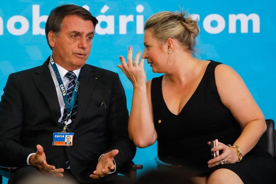 Programa Poder em Foco: Bolsonaro fala sobre relação com Joice Hasselmann