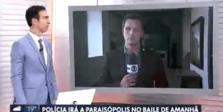 """Vídeo: Ao vivo, jornalista da Globo afirma que """"9 mortos morreram"""""""