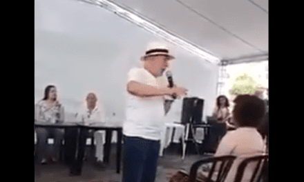 Popularidade em baixa! Lula é flagrado fazendo discurso em uma barraca para pouquíssimas pessoas