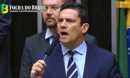 Vídeo: Sérgio Moro faz discurso histórico no congresso ao ser homenageado!