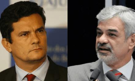 """Senador petista ataca Sergio Moro com insinuações, e acaba detonado pelo ministro: """"A corrupção mata. Desvia recursos que poderiam melhorar a vida das pessoas"""""""