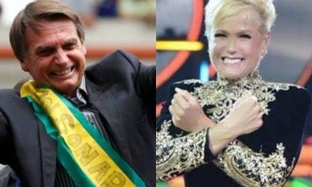 """Xuxa curte publicação que enaltece Bolsonaro e diz que """"é honesto e querem tirá-lo"""""""